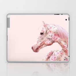 FLORAL HORSE Laptop & iPad Skin