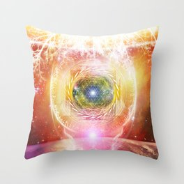 Consciousness Arising - 3/3 Throw Pillow