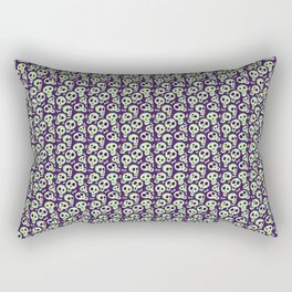 Skulls-geen Rectangular Pillow