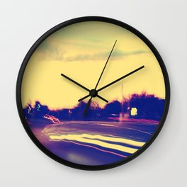 Chasing Pavements  Wall Clock