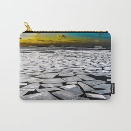 Broken ice floes Carry-All Pouch
