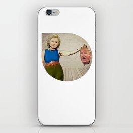 Hillary Clinton- Donald Trump iPhone Skin