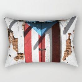 Puerto Rico Flag Rectangular Pillow