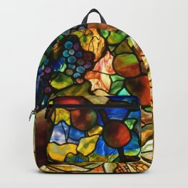 Louis Comfort Tiffany - Decorative stained glass 20. Backpack