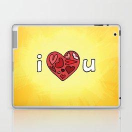 i heart u Laptop & iPad Skin