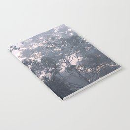 The mysteries of the morning mist Notebook