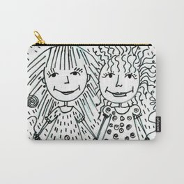 Love Life Laugh Carry-All Pouch