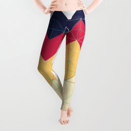Created with code! - Geometric Art - Digital Download Leggings
