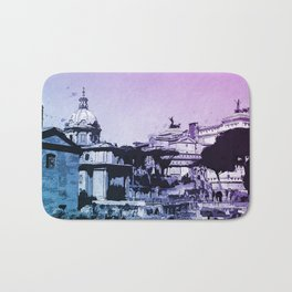 The Imperial Fora, Rome Bath Mat