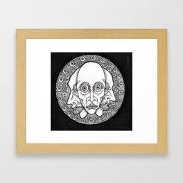 >> Visage x 3 Framed Art Print