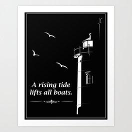 A Rising Tide Art Print