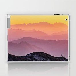 Climb the Rainbow Mountain Laptop & iPad Skin