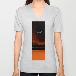 March New Moon Unisex V-Neck
