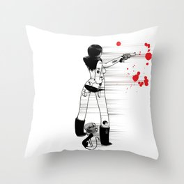Aut Vincere Aut Mori Throw Pillow