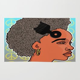 RLOVEUTIONARY FROS Rug