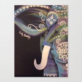 Elephant stomp Canvas Print