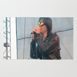 Julian Casablancas of The Strokes Rug