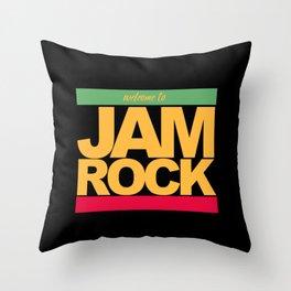 JAMROCK REGGAE Throw Pillow
