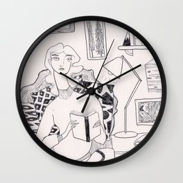 Favorite Place Wall Clock