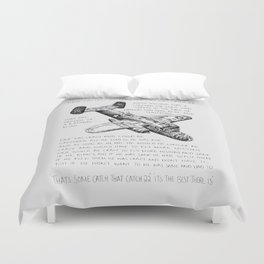 Catch 22 Duvet Cover