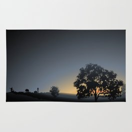 sunrise views Rug
