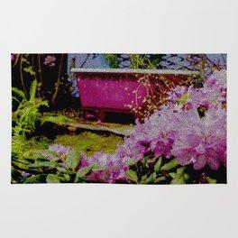 Pink Bathtub Rug