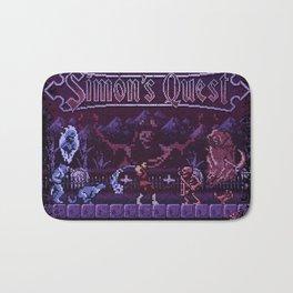 Simon's Vania Castle Quest Bath Mat