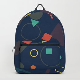 Triangles,Circles,Squire, Backpack