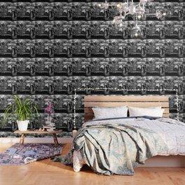 Black old car Wallpaper