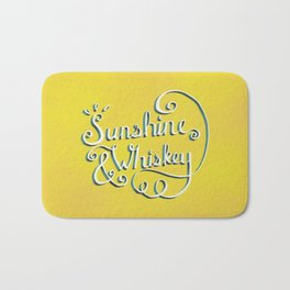 Sunshine & Whiskey Bath Mat