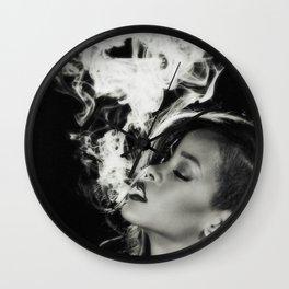 RIHANNA SMOKE Wall Clock