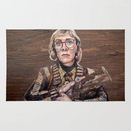 Log Lady / Twin Peaks Rug