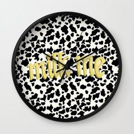 Milk? Wall Clock