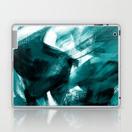 Abstract Artwork Petrol #1 Laptop & iPad Skin