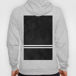 Infinite Road - Black And White Abstract Hoody