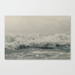 Crash into me Canvas Print