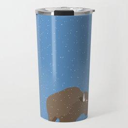 buffalo & prairie dog - I've got you covered Travel Mug