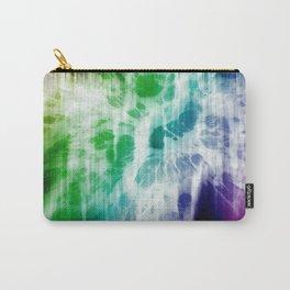 Retro, Boho Chic Tye-Dye Pattern Carry-All Pouch