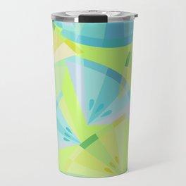 Citrus Blue Travel Mug