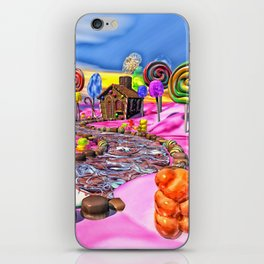 Pink Candyland iPhone Skin