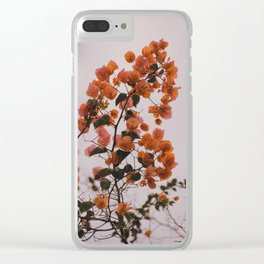 Orange Flowers - Photography 003 Clear iPhone Case