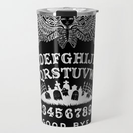 Ouija Board Black Travel Mug