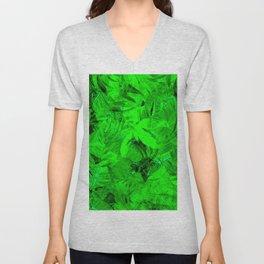 Foliage Unisex V-Neck