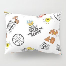 What Pun! Pillow Sham