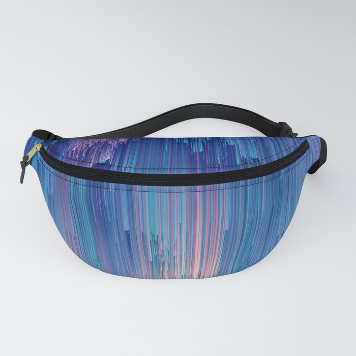 Fairy Glitches - Abstract Pixel Art Fanny Pack