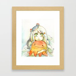 Salt and Vinegar Framed Art Print