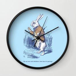The White Rabbit Wall Clock