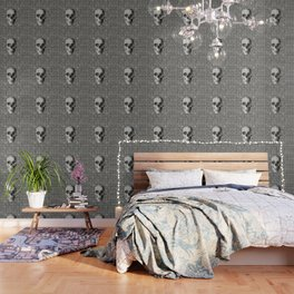 Wicker Skull Wallpaper