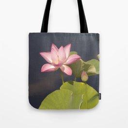 Pink Lotus by Teresa Thompson Tote Bag