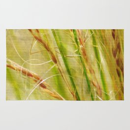 Golden Grasses - JUSTART © Rug